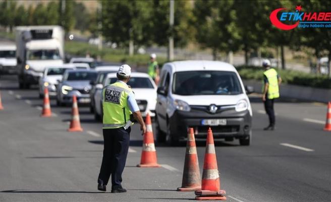 3 milyon 307 bin sürücüye ceza kesildi