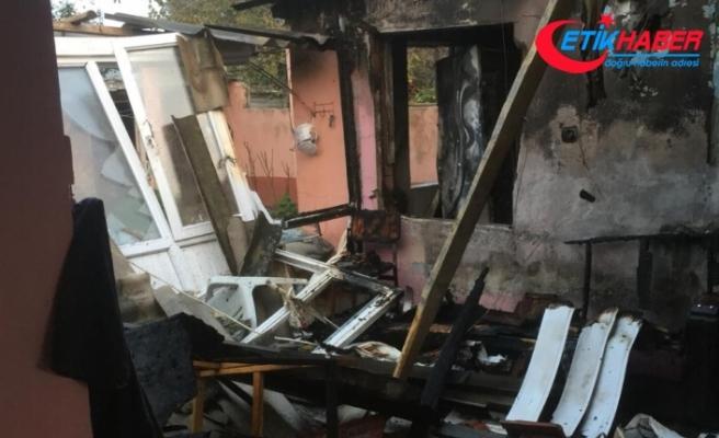 Tüpten sızan gaz patladı: Yaşlı kadın öldü, kocası ağır yaralı
