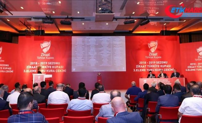 Türkiye Kupası'nda 4. eleme turu kura çekimi yapılacak