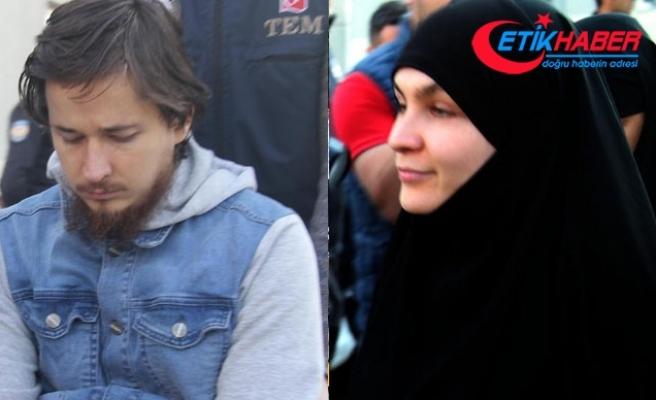 Uluslararası düzeyde aranan DEAŞ militanı, 2 karısıyla tutuklandı