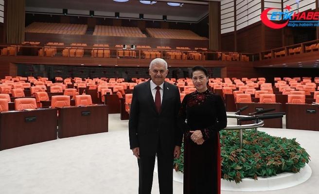 Yıldırım, Vietnam Ulusal Meclisi Başkanı Nguyen ile görüştü