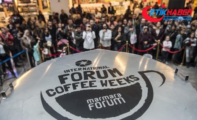 2,5 tonluk Türk kahvesi ile rekor denemesi