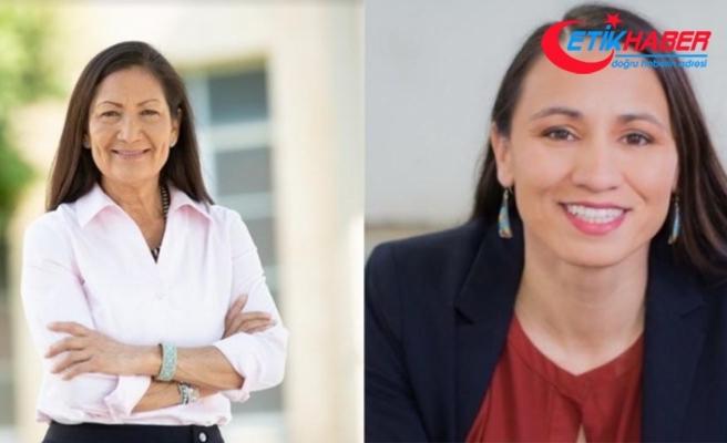 ABD'de ilk defa Kızılderili kadınlar mecliste