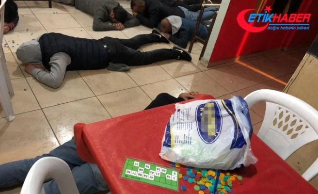 Başkent'te kumar operasyonu: 22 gözaltı