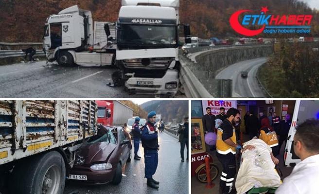 Bursa-Ankara karayolunda art arda iki kaza: 2'si çocuk, 7 yaralı