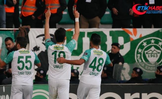 Kayserispor, Bursaspor'la 1-1 Berabere Kaldı