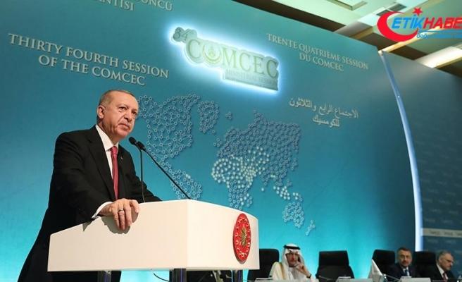 Cumhurbaşkanı Erdoğan: İşgalcilerin Kudüs'ün kandillerini söndürmesine engel olacağız