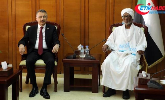 Cumhurbaşkanı Yardımcısı Oktay: Tecrübe dahil ne varsa Sudan ile paylaşmaya hazırız