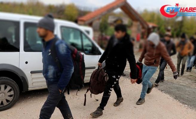 Edirne'deki 'göçmen kaçakçılığı' operasyonlarında 70 kişi yakalandı