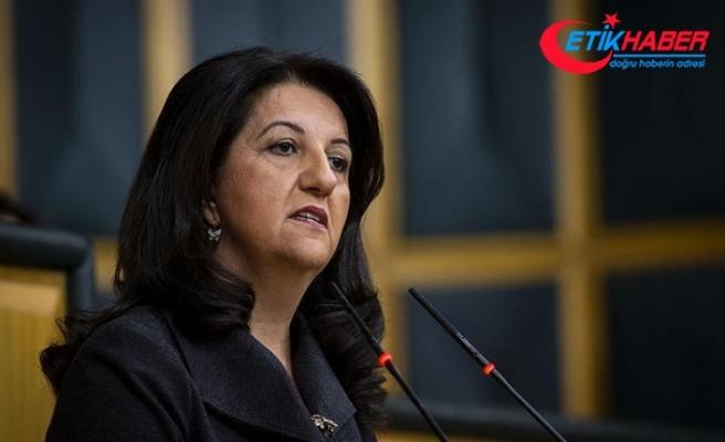 HDP Eş Genel Başkanı Buldan ve üç milletvekili hakkında fezleke