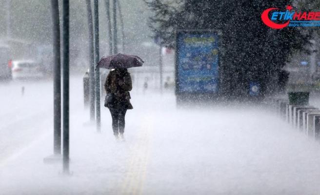 Meteorolojiden 6 il için kuvvetli yağış uyarısı