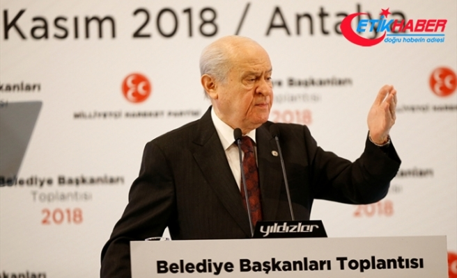 MHP Lideri Bahçeli: Biz bir tarih yazıyoruz