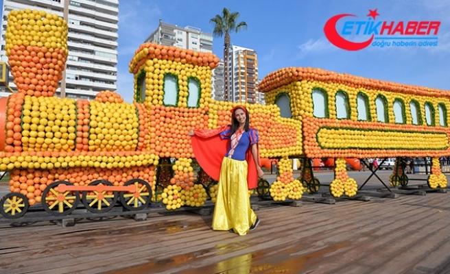 Narenciye Festivali renkli görüntülerle başladı