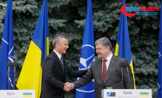 NATO'dan Poroşenko'ya destek telefonu
