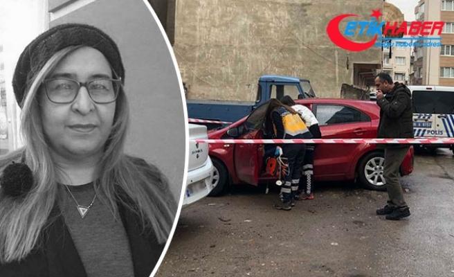 Otomobilinde silahlı saldırıya uğrayan kadın öldü