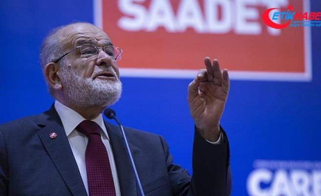 Saadet Partisi Genel Başkanı Karamollaoğlu: Bizim derdimiz kavga etmek değil