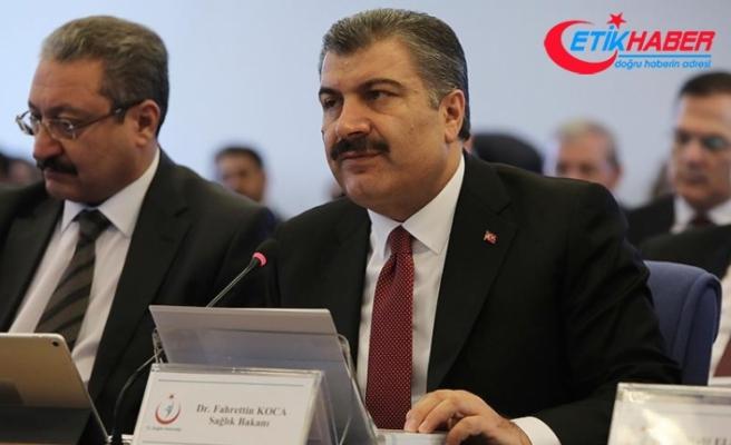 Sağlık Bakanı Koca: Sağlık harcamalarını aşağıya çekmeyi hedefliyoruz