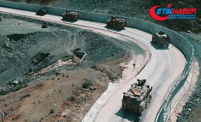 Suriye sınırında PYD/PKK'lı bir terörist yakalandı