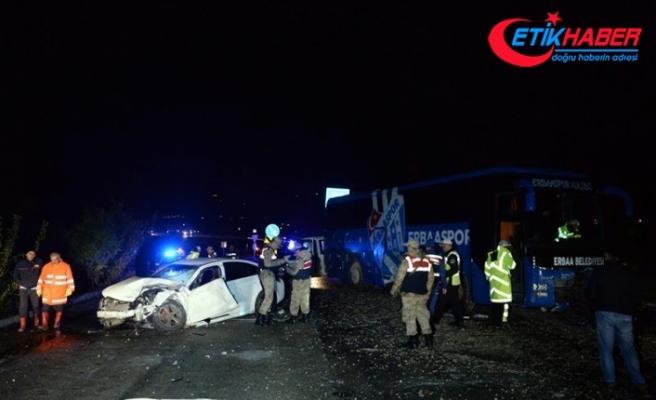 Tokat'ta trafik kazası: Genç doktor hayatını kaybetti