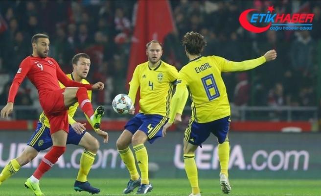 Türkiye İsveç'e 1-0 yenildi