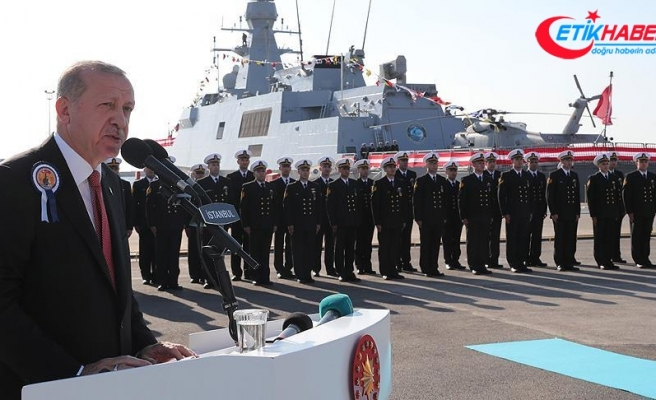 'Türkiye'yi denize ayak basamayacak hale getirmeyi amaçlayan çabalara asla izin vermeyeceğiz'