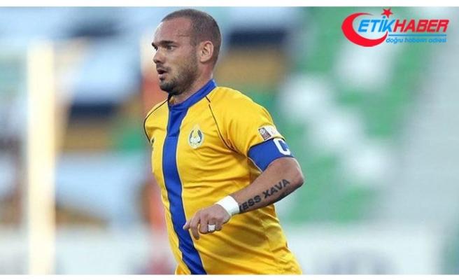 """Wesley Sneijder: """"Bu Katar'da oynadığım son maç."""""""
