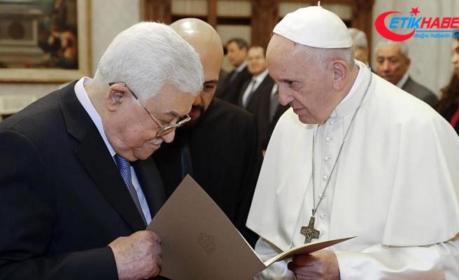 Abbas ve Papa Orta Doğu'yu konuştu