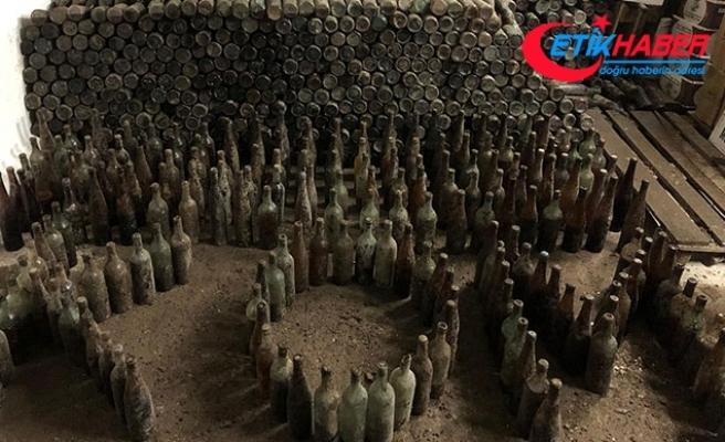 Ankara'da 'toprağa gömülü' 12 bin şişe 'sahte içki' ele geçirildi