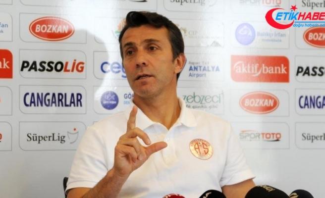 Antalyaspor Teknik Direktörü Korkmaz: Düşündüğümüz puanın üzerinde aldık