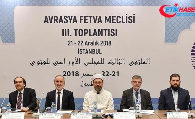 Avrasya Fetva Meclisi 3. Toplantısı başladı