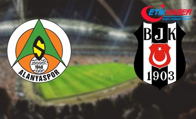 Aytemiz Alanyaspor - Beşiktaş maçının 11'leri belli oldu