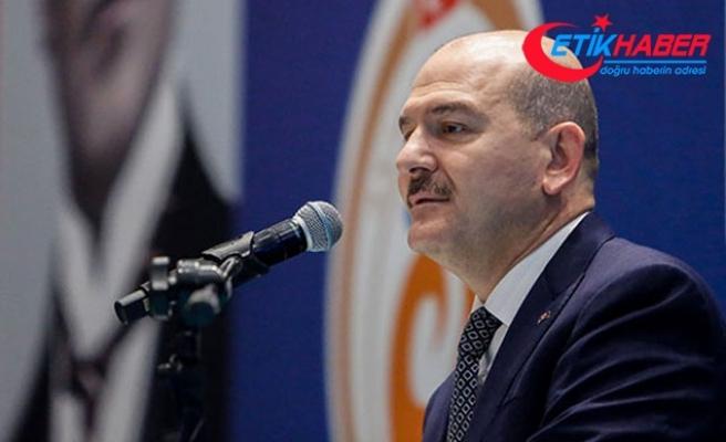Bakan Soylu: Türkiye genelinde şu an 311 operasyon düzenleniyor