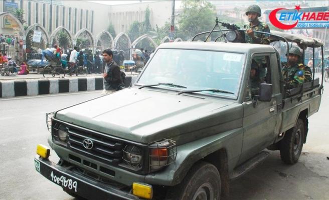 Bangladeş'te seçim öncesi güvenlik önlemleri artırılıyor