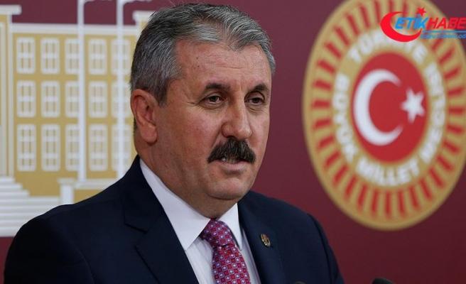 BBP Genel Başkanı Destici: Hiç kimse Gezi ve benzeri bir eylemi aklından geçirmemeli