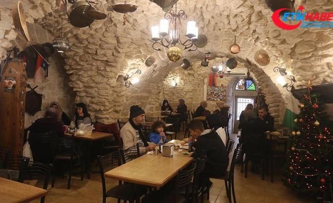 Beytüllahim'deki tarihi Filistin restoranı Aftim kentin uğrak noktası