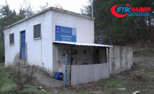 Bursa'da mahallelinin 'arsenikli su' tepkisi
