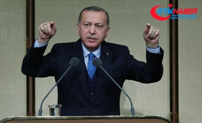 Cumhurbaşkanı Erdoğan: Bu toprakları bölmeye yeltenenlere cevabı millet verecek