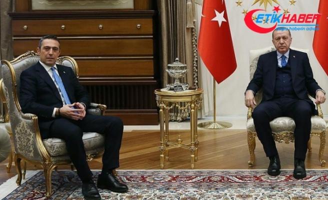 Cumhurbaşkanı Erdoğan ile Ali Koç görüştü