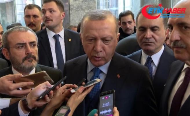 Cumhurbaşkanı Erdoğan: 'Meclis Başkanının istifa etmesine gerek yok'