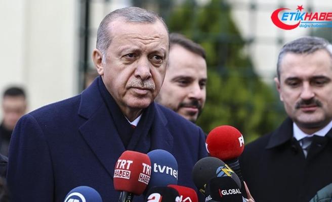 Cumhurbaşkanı Erdoğan: Bu hafta Bahçeli ile bir araya gelebiliriz