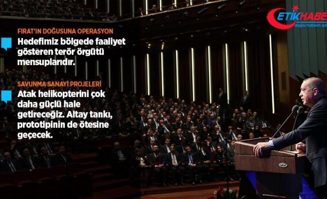 Cumhurbaşkanı Erdoğan: Fırat'ın doğusuna harekat birkaç gün içinde başlayacak