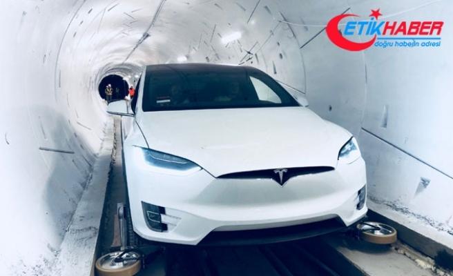 Elon Musk'ın çılgın otonom tüneli projesi bugün açıldı