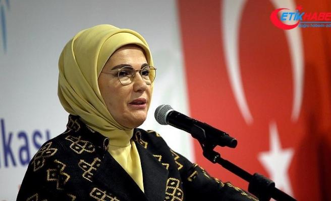 Emine Erdoğan: Ne aklımız ne kalbimiz alıyor çocuklara karşı işlenen suçları