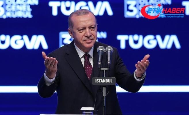 Erdoğan: Türkiye'nin 2053 ve 2071 vizyonlarını sizlere emanet ediyorum