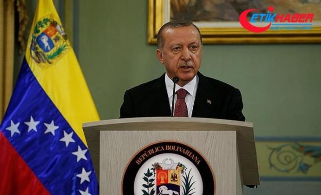 Erdoğan: Venezuela'da 2 FETÖ okulu Maarif Vakfına devredildi