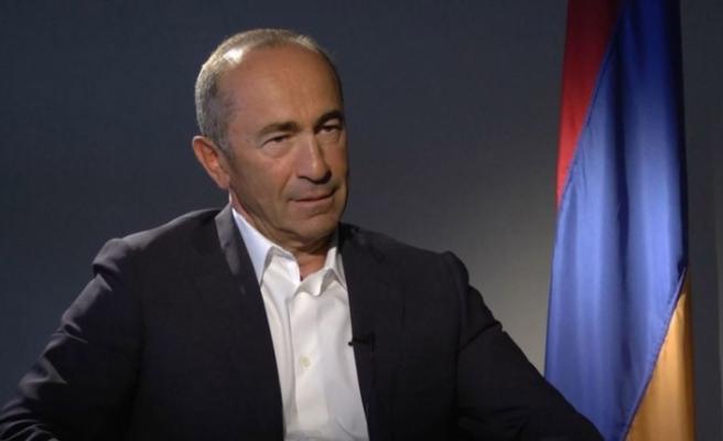 Ermenistan'ın eski Cumhurbaşkanı tutuklandı