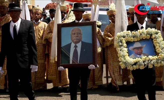 Etiyopya eski Cumhurbaşkanı Woldegiorgis son yolculuğuna uğurlandı