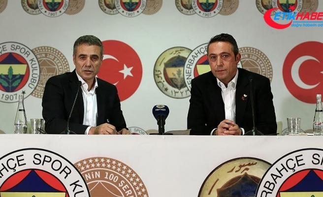 Fenerbahçe'de Ersun Yanal törenle imzayı attı