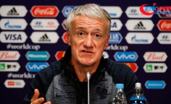 Fransa A Milli Futbol Takımı Teknik Direktörü Deschamps: Türkiye ile iyi bir karşılaşma olacak