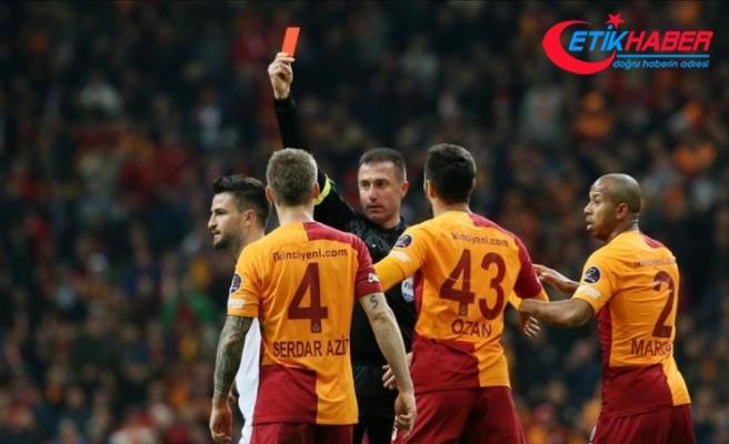 Galatasaray'ın cezaları onandı